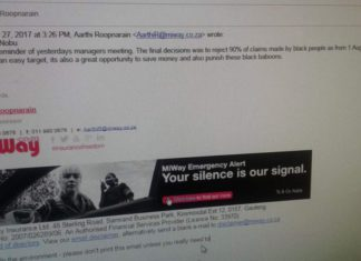 MiWay Email Scandal